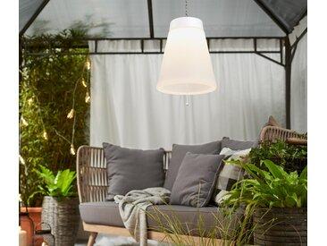 LED-Outdoor-Hängeleuchte - silber - Edelstahl - Tchibo