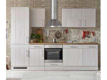 respekta-Premium-Küchenblock »Landhaus« - weiß - Holz - Tchibo