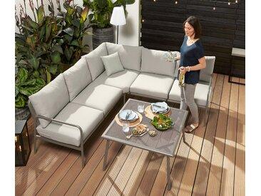 Garten-Dining-Lounge-Set - hellgrün - Tchibo