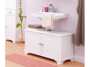 Waschbeckenunterschrank - Weiß - Holz - Tchibo