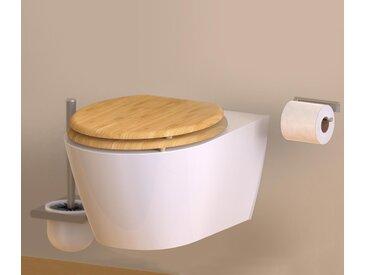 SCHÜTTE-WC-Sitz »Bambus« - naturfarben - Tchibo