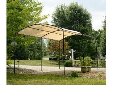 Shelterlogic-Runddach-Carport - schwarz - Tchibo