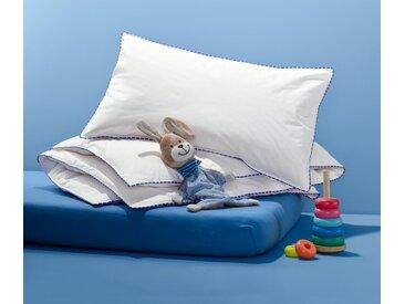 irisette® Kinder-Daunenkissen und -Steppbett - Weiß - 100% Baumwolle - Tchibo