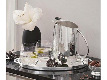 Versilberte Karaffe - Silberfarben - Messing - Tchibo
