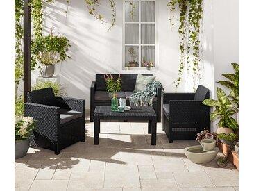 Gartenmöbel-Set »Geflechtoptik«