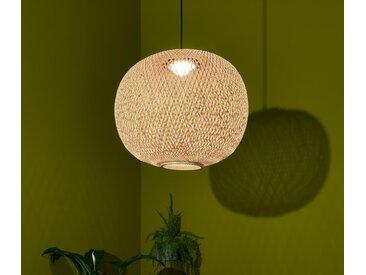 LED-Pendelleuchte »Bambusgeflecht« - schwarz - Tchibo