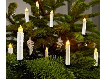 25 LED-Weihnachtsbaumkerzen - grün - Tchibo