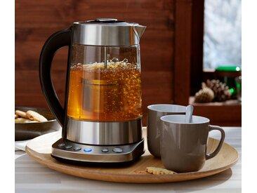 Tee- und Wasserkocher mit 1 - schwarz - Edelstahl - Tchibo