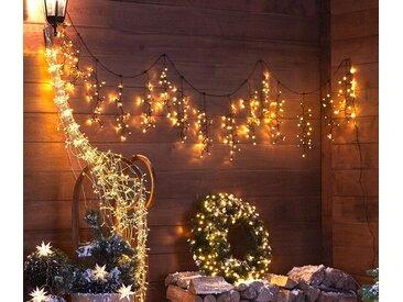 LED-Outdoor-Girlande - Schwarz - Tchibo