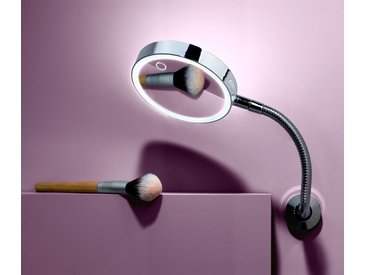 LED-Wandkosmetikspiegel - Silberfarben - Tchibo