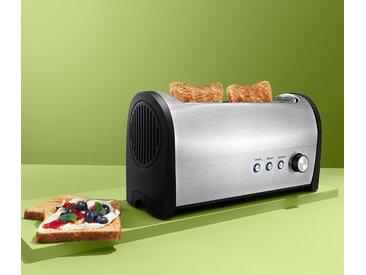 Langschlitz-Toaster - silber - Edelstahl - Tchibo