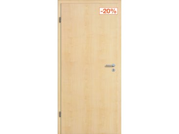 Tür mit Zarge Dekor Ahorn