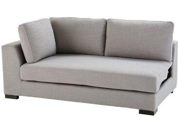 Ausziehbares modulares Sofa, Armlehne links, hellgrau Terence
