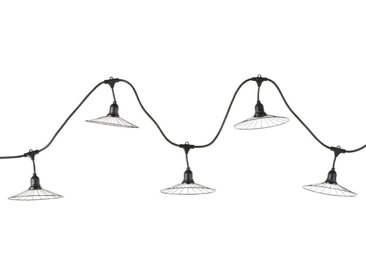 Outdoor-LED-Girlande 10 Sonnenschirme L596