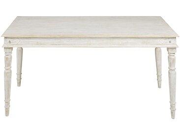 Tisch aus massivem Mangoholz gebleicht L.180cm Salina
