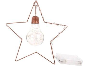 Stern-Glühbirne zum Aufhängen aus Metall
