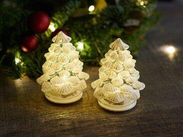 künstlicher Weihnachtsbaum, 2er-Set Cilja Tree, Designer Sirius, 8 cm