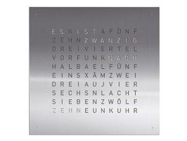 Wanduhr Qlocktwo, Designer Biegert & Funk, 45x45x4.5 cm