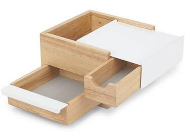 Mini Stowit Umbra weiß, Designer Sung Wook Park, 11.3x15.5x17.2 cm