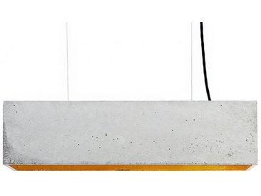 LED-Pendelleuchte B4 GANTlights grau, Designer Stefan Gant, 14x56x14 cm