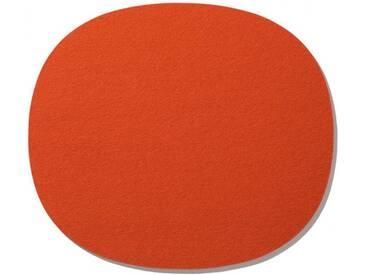 Hey-Sign Sitzauflage Eames Side Chair orange, Designer Bernadette Ehmanns, 0.5x35x31 cm