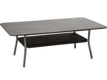 Stern Möbel Lounge Tisch Space Grau, Designer a&o Industrial Design, 46.5x130x80 cm