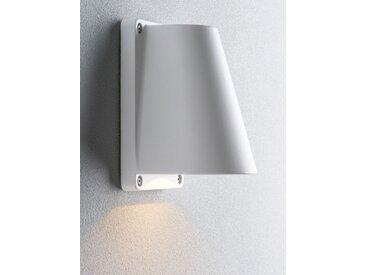 LED-Außenwandleuchte Boss weiß, 15.5x10x11 cm