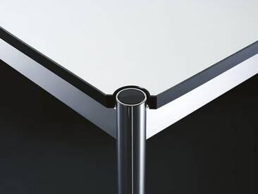 USM Schreibtisch grau, Designer Prof. Fritz Haller, 74x175x75 cm
