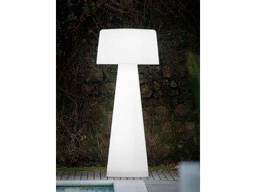 Aussenstehlampe Time Out Pedrali weiß, Designer Alberto Basaglia, Natalia Rota Nodari, 190 cm
