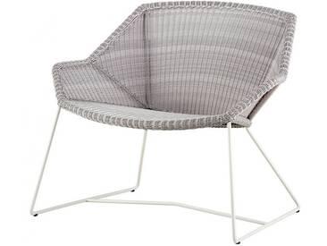 Loungesessel Breeze Cane-line grau, Designer Christina Strand, Niels Hvass, 73x87x72 cm