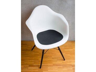 Ledersitzpad schwarz, Designer Thomas Albrecht, 0.3x42x40 cm