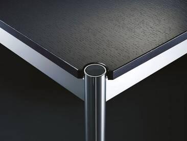 USM Schreibtisch Braun, Designer Prof. Fritz Haller, 74x150x75 cm
