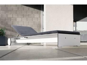 Polsterauflage für Riva Liege Conmoto grau, Designer Schweiger & Viererbl, 3x70 cm