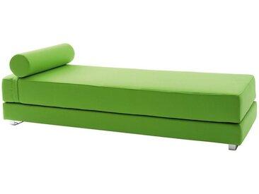 Softline Schlafsofa Lubi grün, Designer Kurt Brandt, 44x82 cm