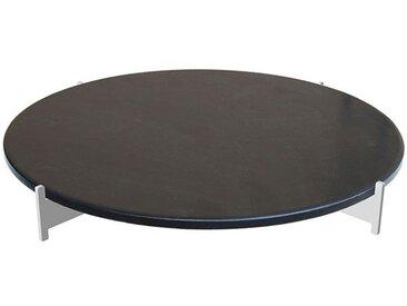 Pizzastein-Set schwarz, Designer Harri Paakkanen, 10 cm