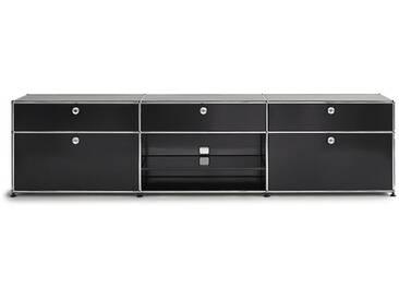 USM Sideboard, Designer Prof. Fritz Haller, 56.5x228x38 cm
