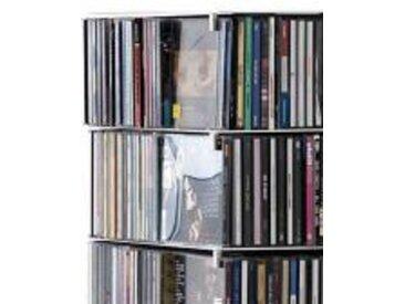 Opinion Ciatti Ptolomeo X4 CD-Halter silber, 2x1x0.5 cm
