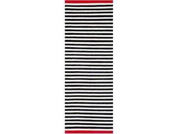 Läufer Rosemary Fabula Living schwarz, Designer Lisbet Friis, 0.4x90x0 cm