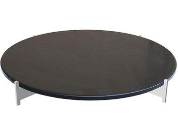 Pizzastein-Set XL schwarz, Designer Harri Paakkanen, 10 cm