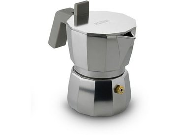 Espressokocher Moka Alessi, Designer David Chipperfield, 11x13.5 cm