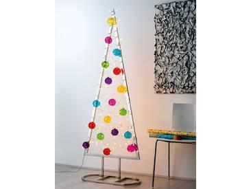 Weihnachtsbaum Silber, 180x66x30 cm