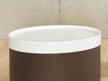 Softline Tablett Drum, weiß Weiß, Designer Softline Design Team, 7.4 cm