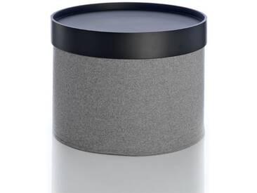 Softline Hocker Drum Grau, Designer Softline Design Team, 30 cm