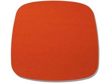 Hey-Sign Sitzauflage Eames Armchair orange, Designer Bernadette Ehmanns, 0.5x37x35 cm