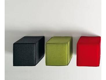 Softline Hocker Space Grau, 41x45x45 cm