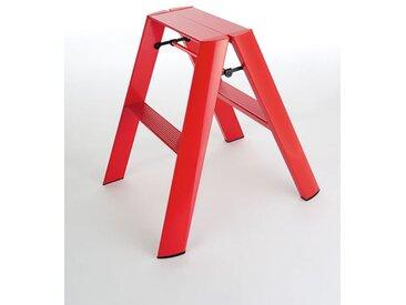 Trittleiter Lucano Thomas Merlo rot, Designer Chiaki Murata, 62x48.5x57 cm