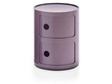 Kartell Container Componibili violett, Designer Anna Castelli Ferrieri, 40 cm