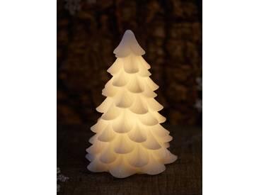 LED-Weihnachtsbaum Carla Weiß, Designer Sirius, 16 cm