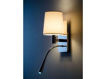 Wand-Leuchte Asset weiß, Designer Aluminor, 34x16x20 cm