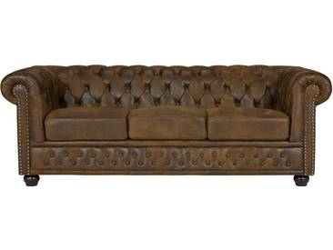 massivum Chesterfield Sofa Vintage 3-Sitzer